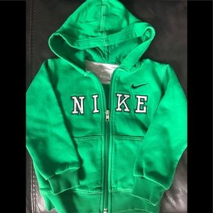 Nike 4T Hooded Zip-Up Sweatshirt